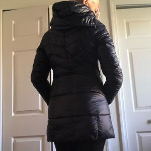 Guess Hooded, Quilted Puffer Coat